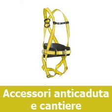 Accessori anticaduta e cantiere