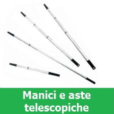 Manici e aste telescopiche