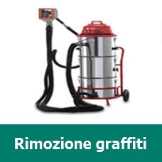 Rimozione graffiti - Sabbiatrici